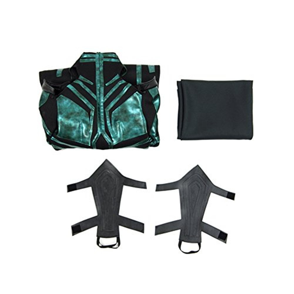 Women's Jumpsuit with Cloak Cosplay Costume Halloween Costume (XXL)