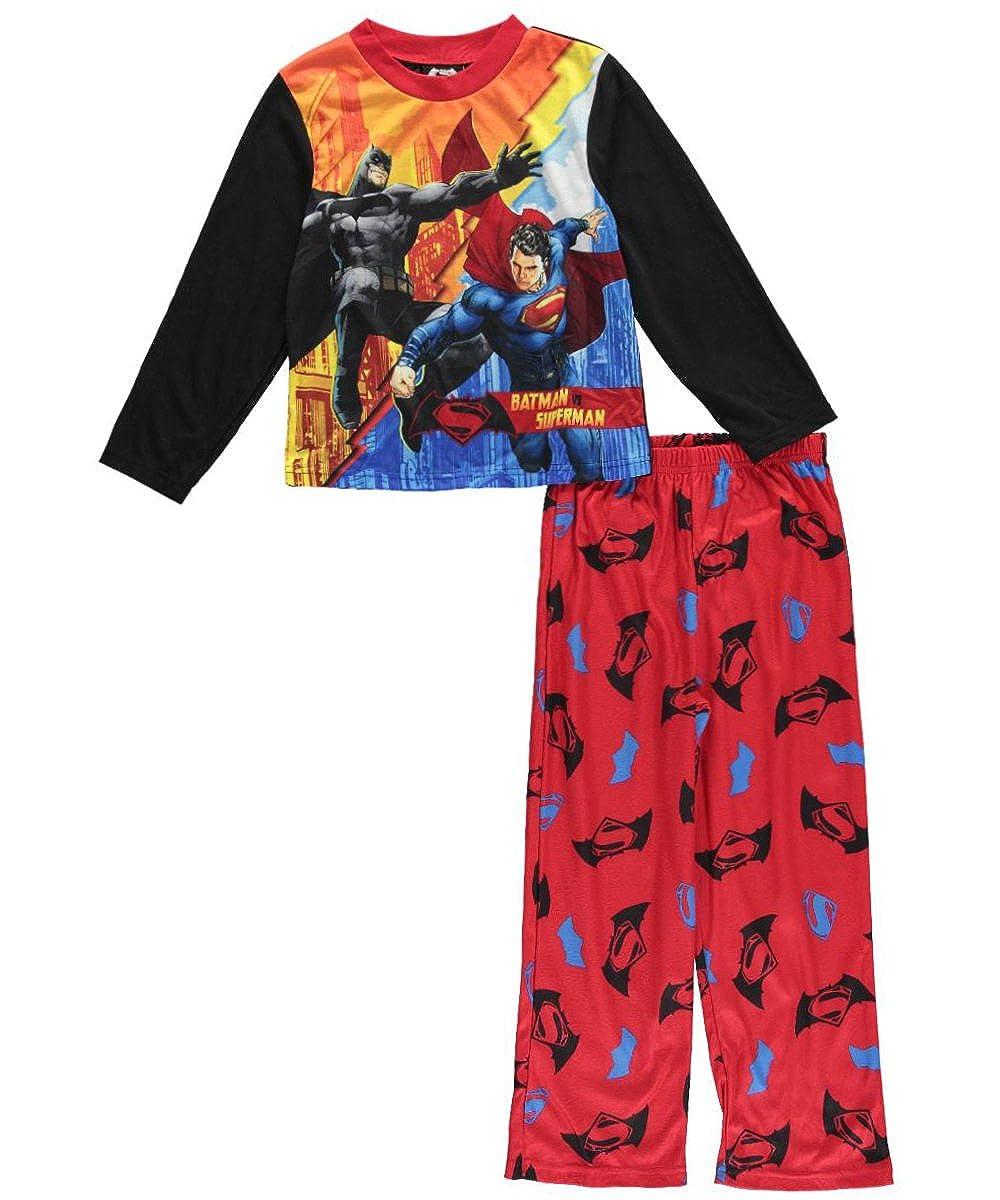 Boys 4-10 2-Piece Batman Vs Warner Bros Superman Pajama Set DJ036BLLZA