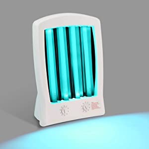Sun Home Tanning Lamp Face and Body Light Therapy Simulated Natural Sunlight Portable Material