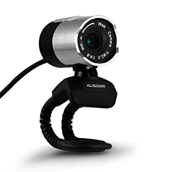 Amazon.com: Ausdom Full HD 1080p Webcam Web Camera with Microphone ...