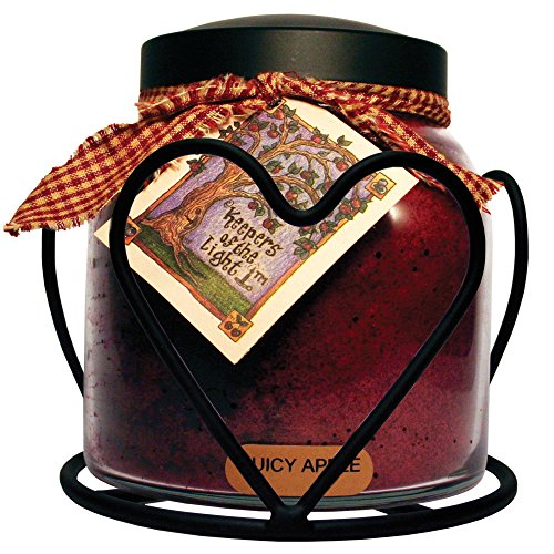 A Cheerful Giver Candle Jar Holder, Heart