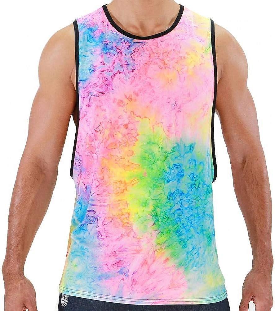 TOF Paris - Camiseta de tirantes hippie - Multi - Medium ...