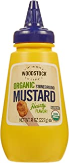 product image for Woodstock Farms Organic Mustard - Stoneground - 8 Ounces