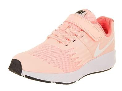 89f19b5592abaf Nike Girl s Star Runner (PSV) Pre-School Shoe Crimson Tint White