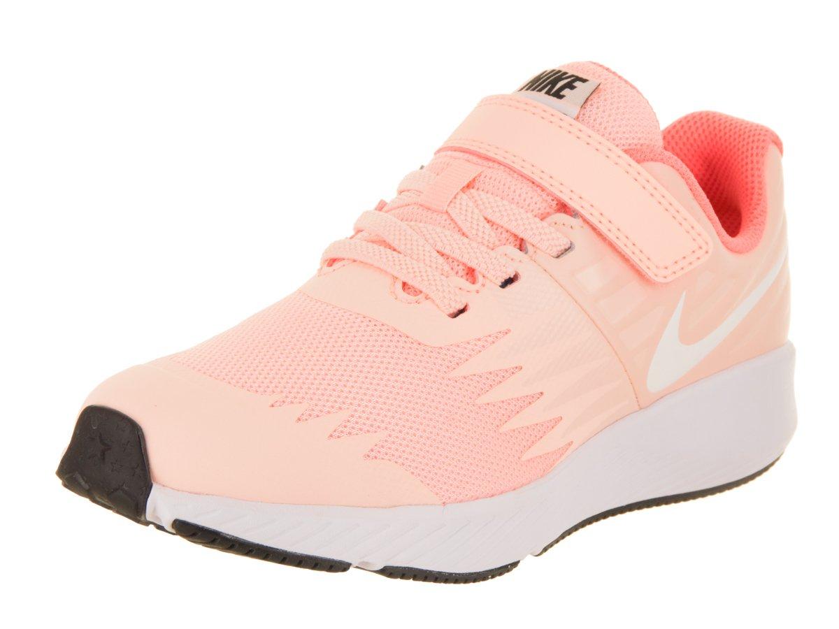 Nike Girl's Star Runner (PSV) Pre-School Shoe Crimson Tint/White/Crimson Pulse/Black Size 1.5 M US