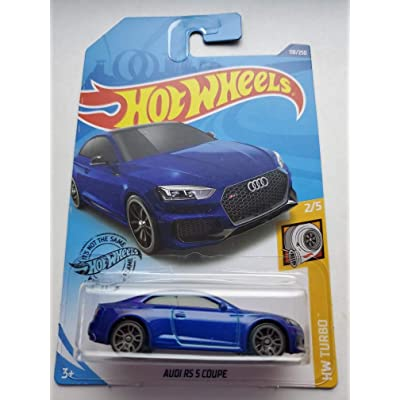 Hot Wheels 2020 Hw Turbo Audi RS 5 Coupe, Blue 118/250: Toys & Games