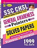 Kiran SSC CHSL General Awareness Pointers Solved Papers Including Success Tips Yearwise & Topicwise - 2072
