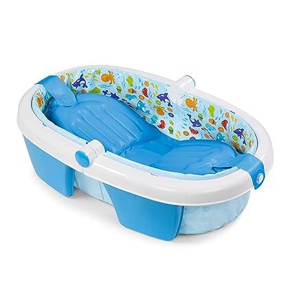 Bebés Inflable Bañera Baño Baño Para b67gyf