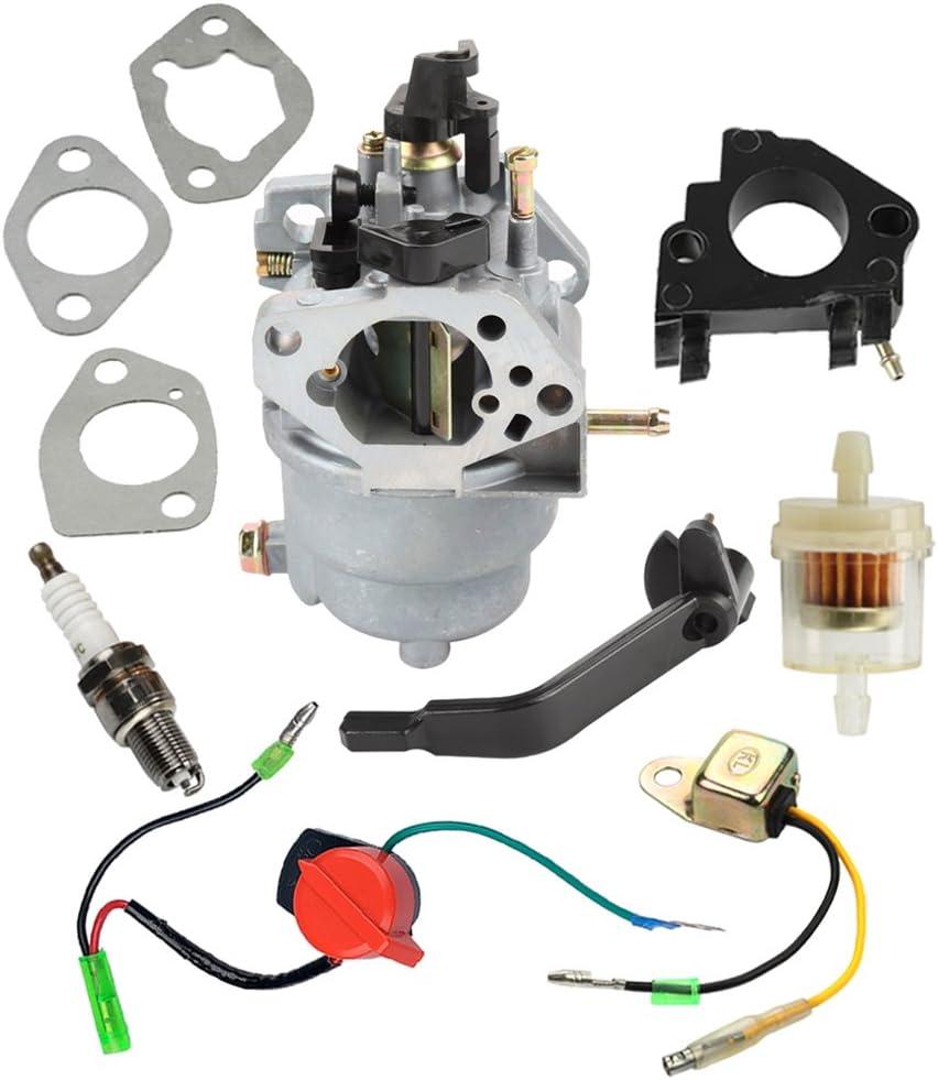 Generator Carburetor For 389CC GP5500 GP6500 Portable Generator Rep 0G8442A111