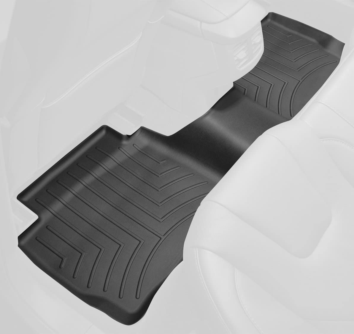 WeatherTech 442973 FloorLiner, Rear, Black 442873