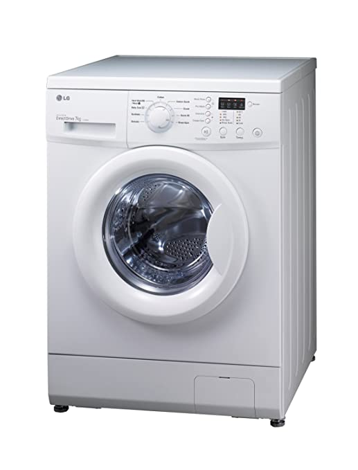 LG F72684WH Independiente Carga frontal 7kg 1200RPM A++ Blanco ...