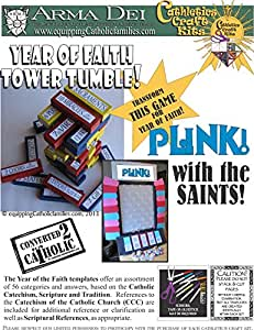 Tower Tumble and Plink with the Saints