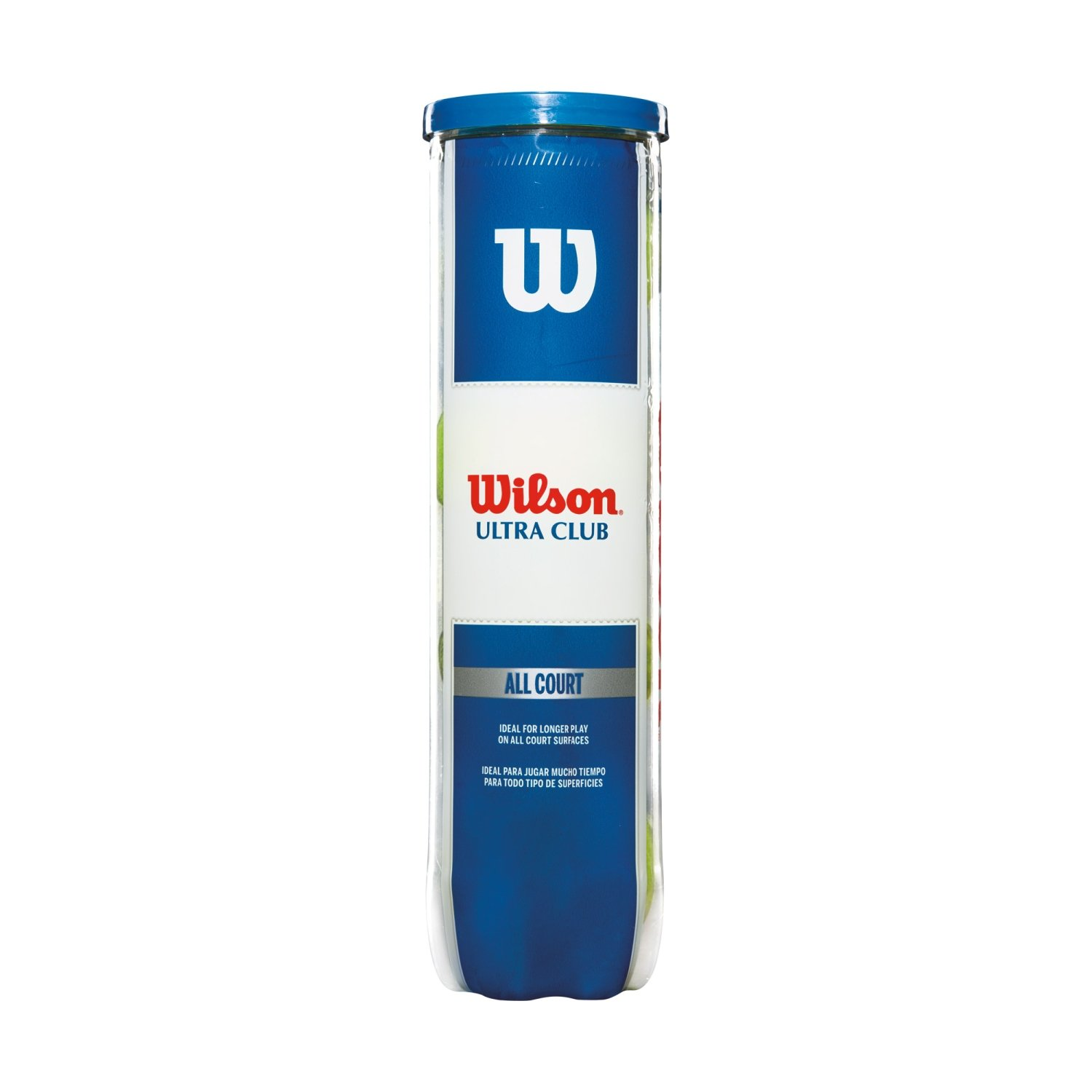 Wilson Pelotas de tenis, Ultra Club All Court, Para todas ...