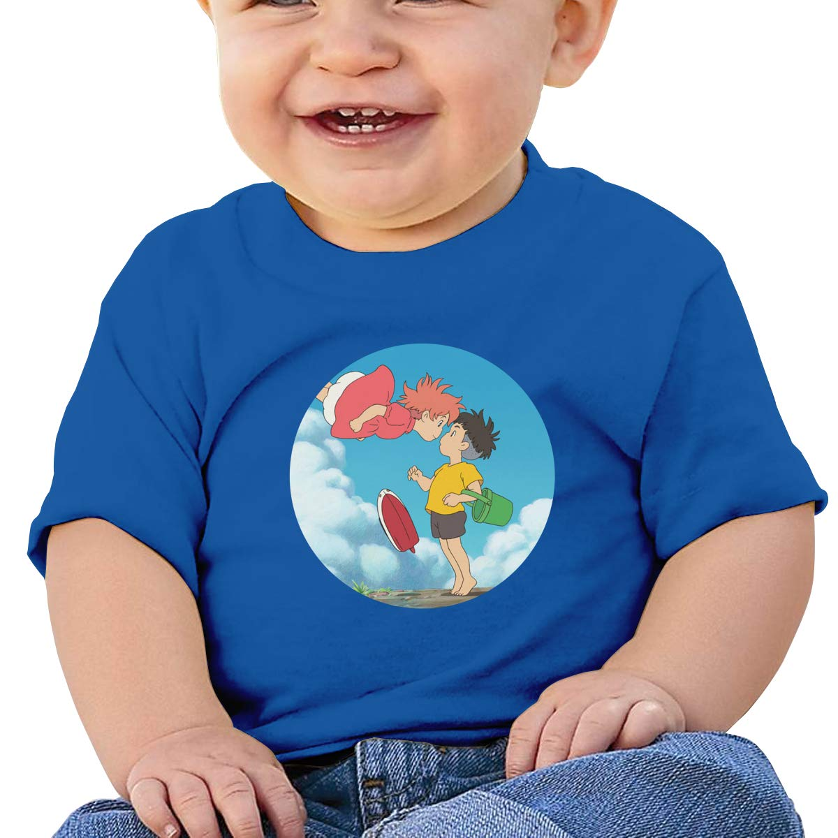 EVE JOHN Ghibi Tee Summer Tshirts for Toddler Black