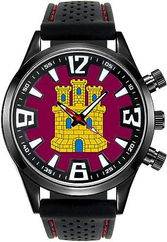 Timest - Bandera de Castilla y León España - Reloj para Hombre con ...