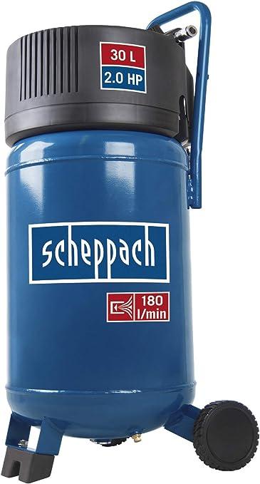 Scheppach Kompressor Hc30v 1500 Watt 30 L 10 Bar Ansaugleistung 180l Min ölfrei Baumarkt