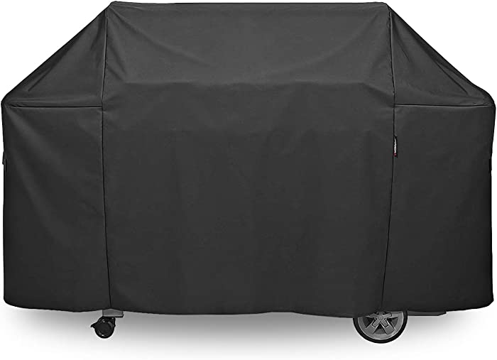 QuliMetal 7132 Grill Cover for Weber Genesis II 6 Burner Grill and Weber Summit 6 Burner Grill, 73 Inches BBQ Grill Cover for Weber Genesis 610/Genesis II LX 600 Series and Summit 600 Series Grill