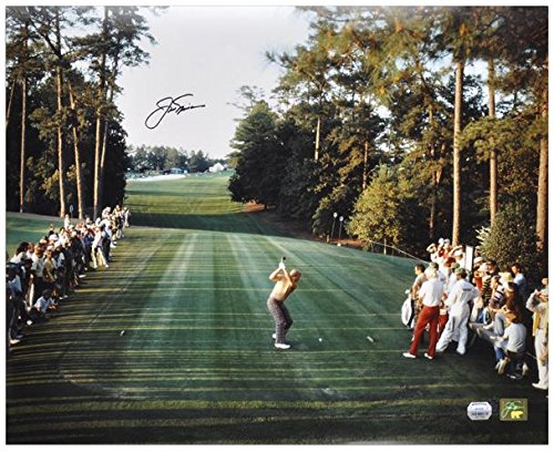 "Jack Nicklaus Autographed 16"" x 20"" 1986 Masters Photograph - Fanatics Authentic Certified - Autographed Golf..."