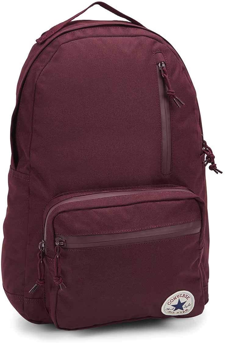 Converse Chuck Taylor All Star Go Backpack 2.0 One Size (Maroon)