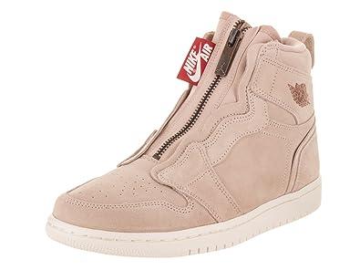 Amazon.com | NIKE Jordan WMNS Air Jordan 1 High Zip Womens Aq3742-205 | Fashion Sneakers