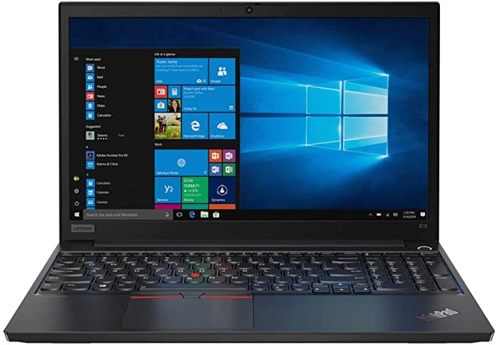 "Lenovo ThinkPad E15 15.6"" Full HD IPS 1920 x 1080 Laptop, Core i5-10210U, 256 GB SSD, 8GB Ram, Win 10 Pro 64-bit"