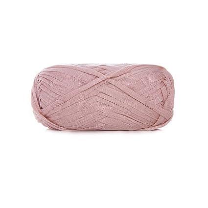 Amazoncom Blush Pink Art Yarn T Shirt Yarn Crochet Rug Yarn
