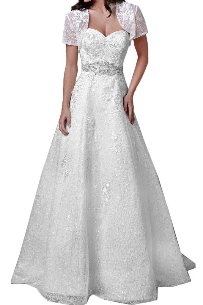 (ウィーン ブライド)Vienna Bride ウェディングドレス 花嫁ドレス ふんわりとする裾 ホワイト 大胆背中開き 肩紐 サテン チュール アップリケ レース B01MY3AMG6 13|ホワイトH ホワイトH 13