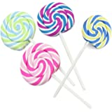 Winstory 4x Creative Lollipop Shaped Rubber Erasers Novelty For Children School Stationery Supply