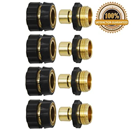 Twinkle Star 2 Set 3//4 Inch Garden Hose Fitting Quick Connector Easy Connect