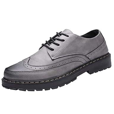 Zapatos Nauticos Barco Marrones para Hombres ZARLLE Mocasines Cómodos Hombre,Adecuado para El Trabajo y