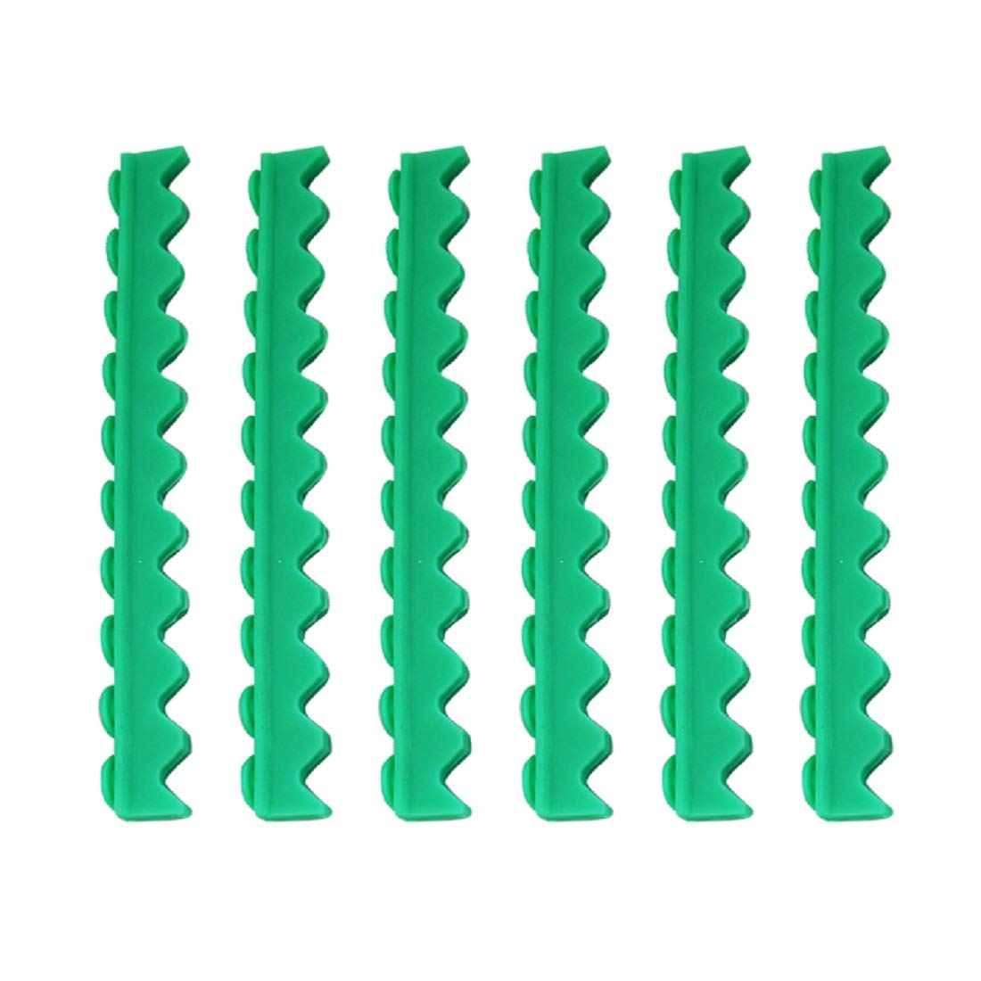 Tinsay Replacement Silicone Rubber Insert Holder for Dental 10 Instruments Cassette Green 3pc/1set