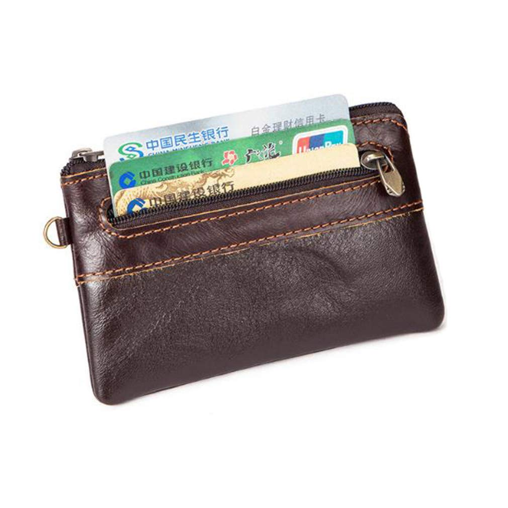 Guoshang Coin Purse Wallet for Men Short Wallet Vintage Wallet Multi-Function Fashion Casual Valentines Day Present