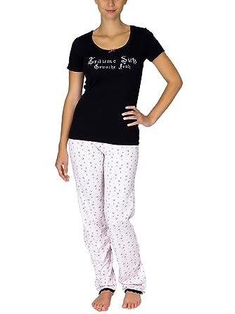 Rabatt-Verkauf berühmte Designermarke Offizieller Lieferant Vive Maria Damen Zweiteiliger Schlafanzug Erwache Froh Long Pyjama