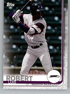 2019 Topps Pro Debut #102 Luis Robert RC Rookie Winston-Salem Dash MLB Baseball Trading Card