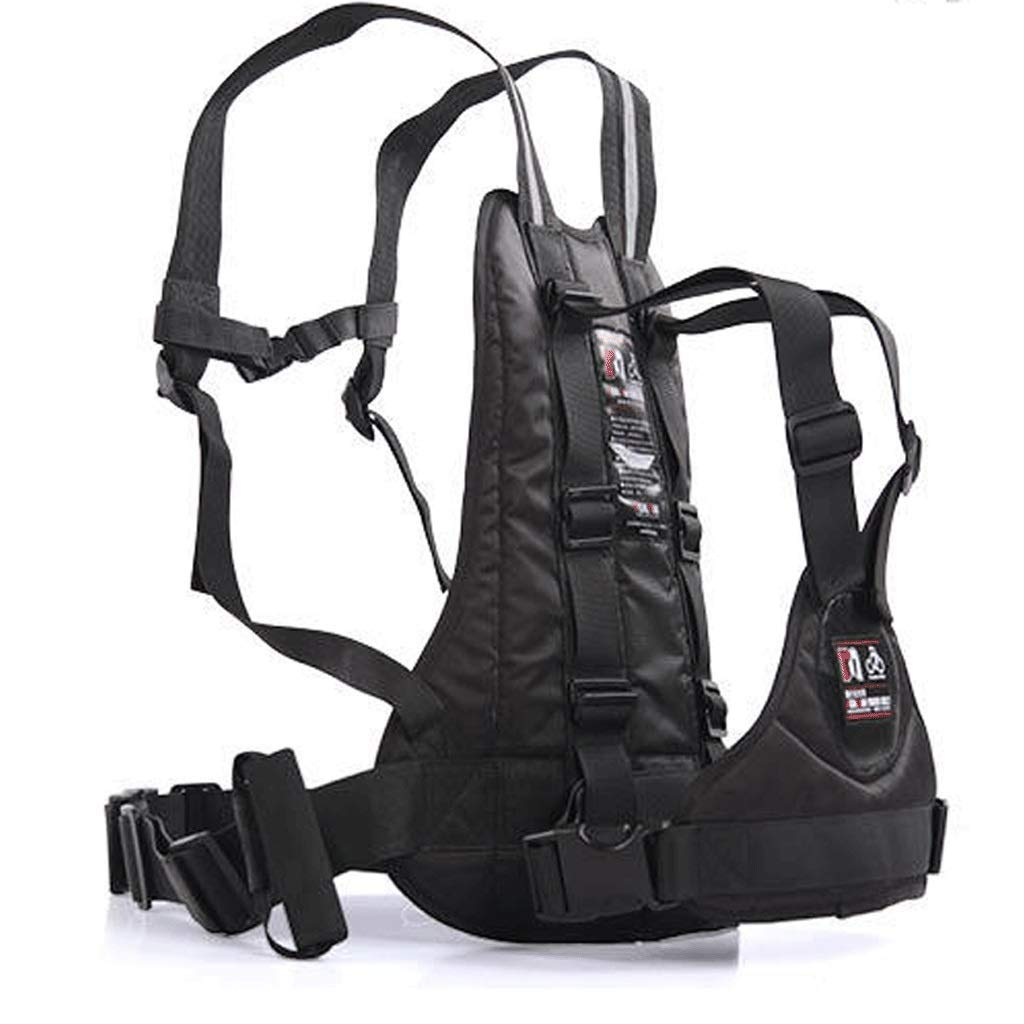 Motorcycle Child Safety Harness with Handles Reflective Material High Strength Childrens Motorcycle Safety Harness Can Be Adjusted Up and Down,Black