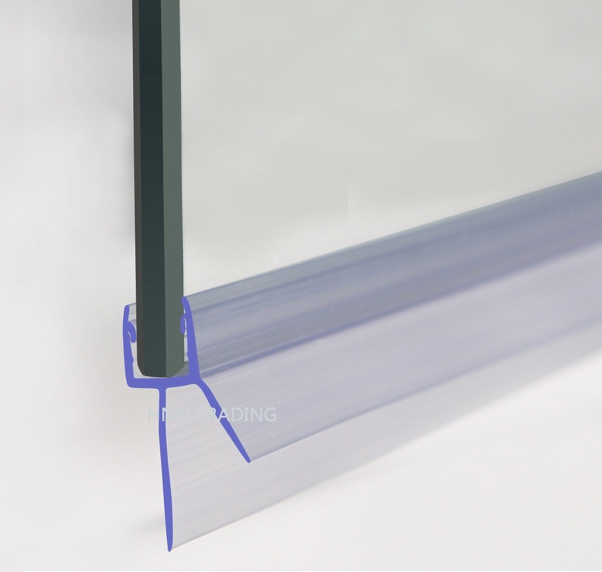 Shower Screen Seal (Glass Thickness 4-6mm | WING LENGTH 16mm | Gap ...
