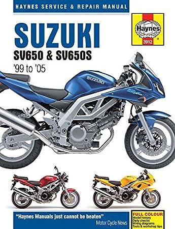 haynes manual suzuki sv650 99 08 sv650s 99 08 each amazon co uk rh amazon co uk 2004 sv650 owners manual 2004 sv650 manual pdf
