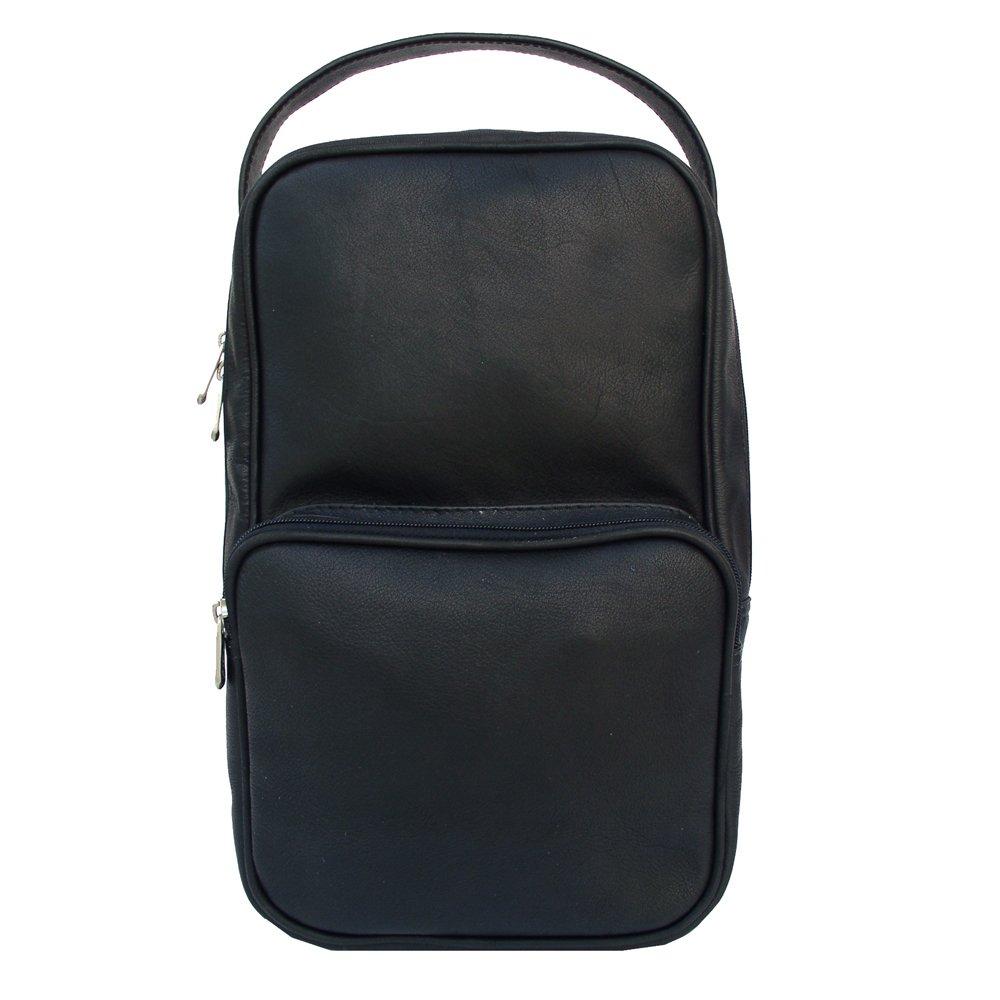 正規代理店 Piel 9743-BLK Vertical Golf Shoe Bag Bag - Vertical Black 9743-BLK B002ENKB46, マイスターケイ:60148292 --- a0267596.xsph.ru