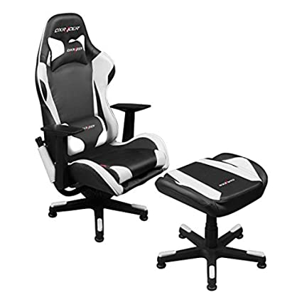 Amazon.com: Dxracer Video Game Chair + Ottoman FA96/NW/SUIT Newedge ...