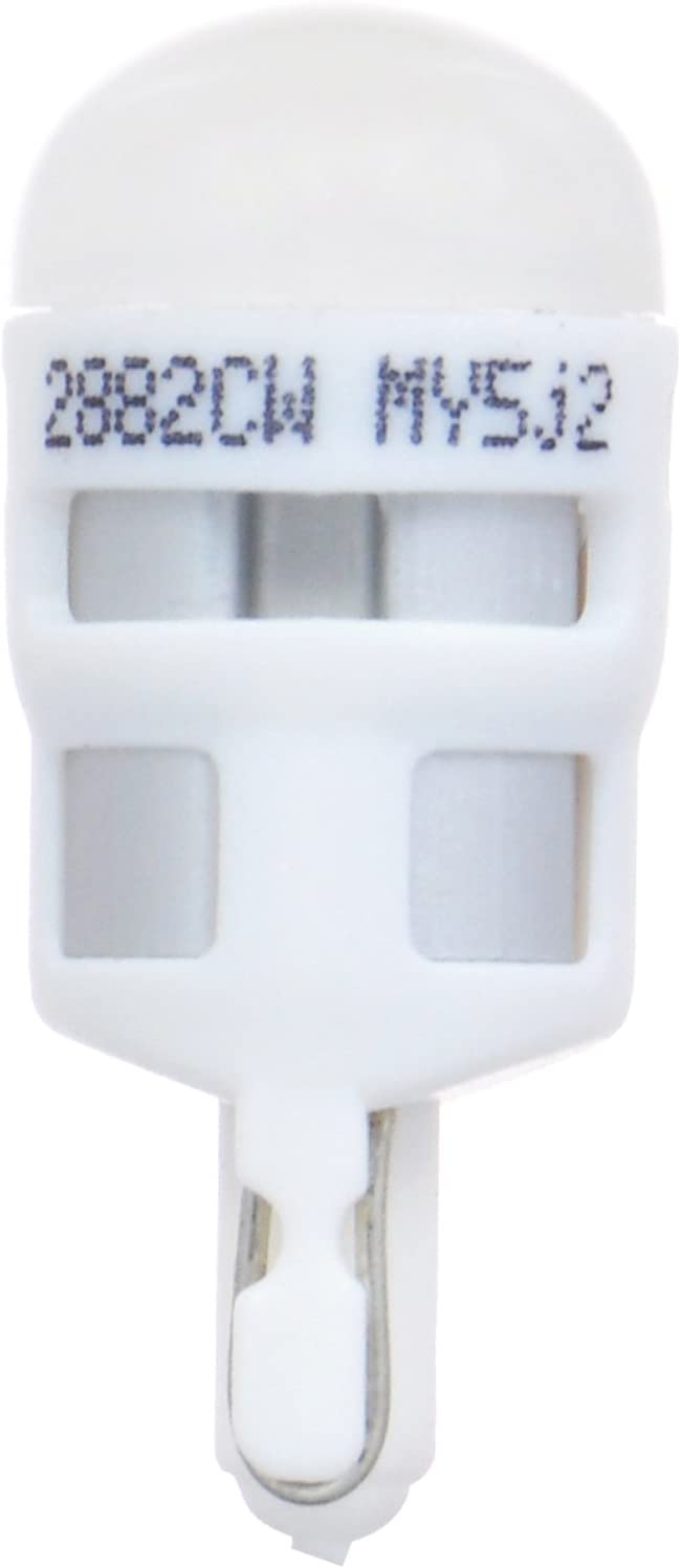194 T10 W5W ZEVO LED Amber Bulb Ideal for Interior Lighting SYLVANIA Contains 1 Bulb Bright LED Bulb