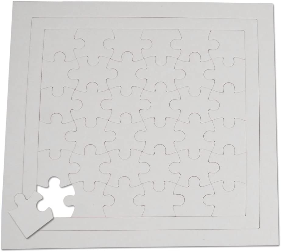 Henbea- 5 puzles de 36 Piezas (839/C)