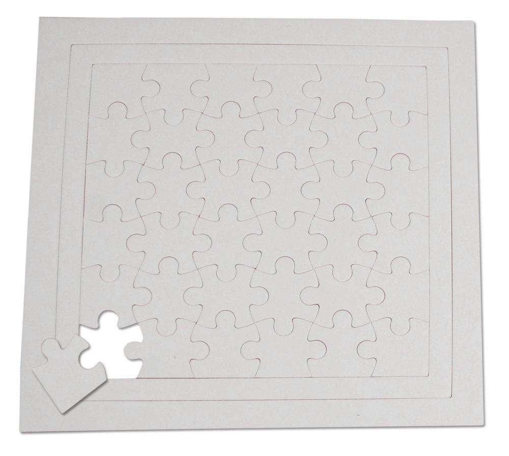 Henbea - CREA tu Puzzle 36 Piezas (Pack de 5 Unidades) (839/C)