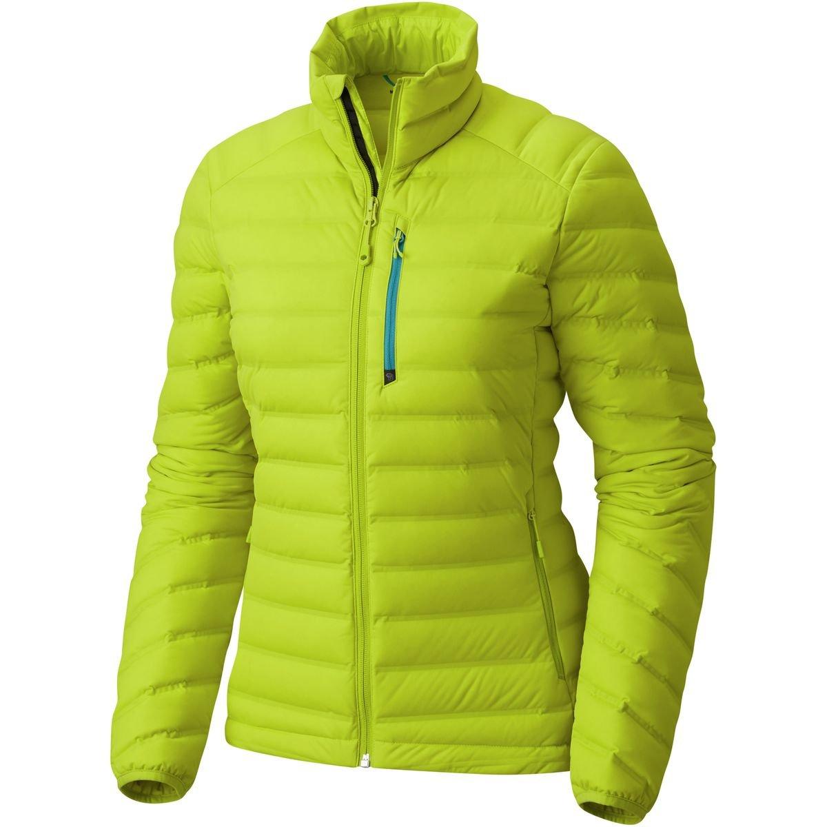 Mountain Hardwear ストレッチダウンジャケット レディース B01N1GCM8O Medium|Fresh Bud Fresh Bud Medium