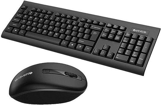 WOSOYES® EM1200 - Juego de teclado y ratón inalámbricos ...