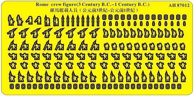 Amazon | アーティストホビー 1/700 ローマ軍船戦闘員 紀元前1-3世紀 ...