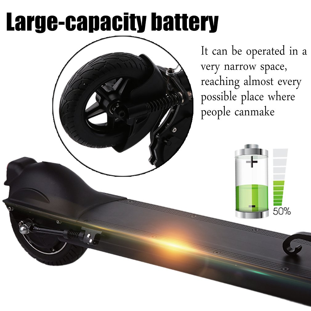 Amazon.com: NiceHyacinth - Patinete eléctrico portátil ...