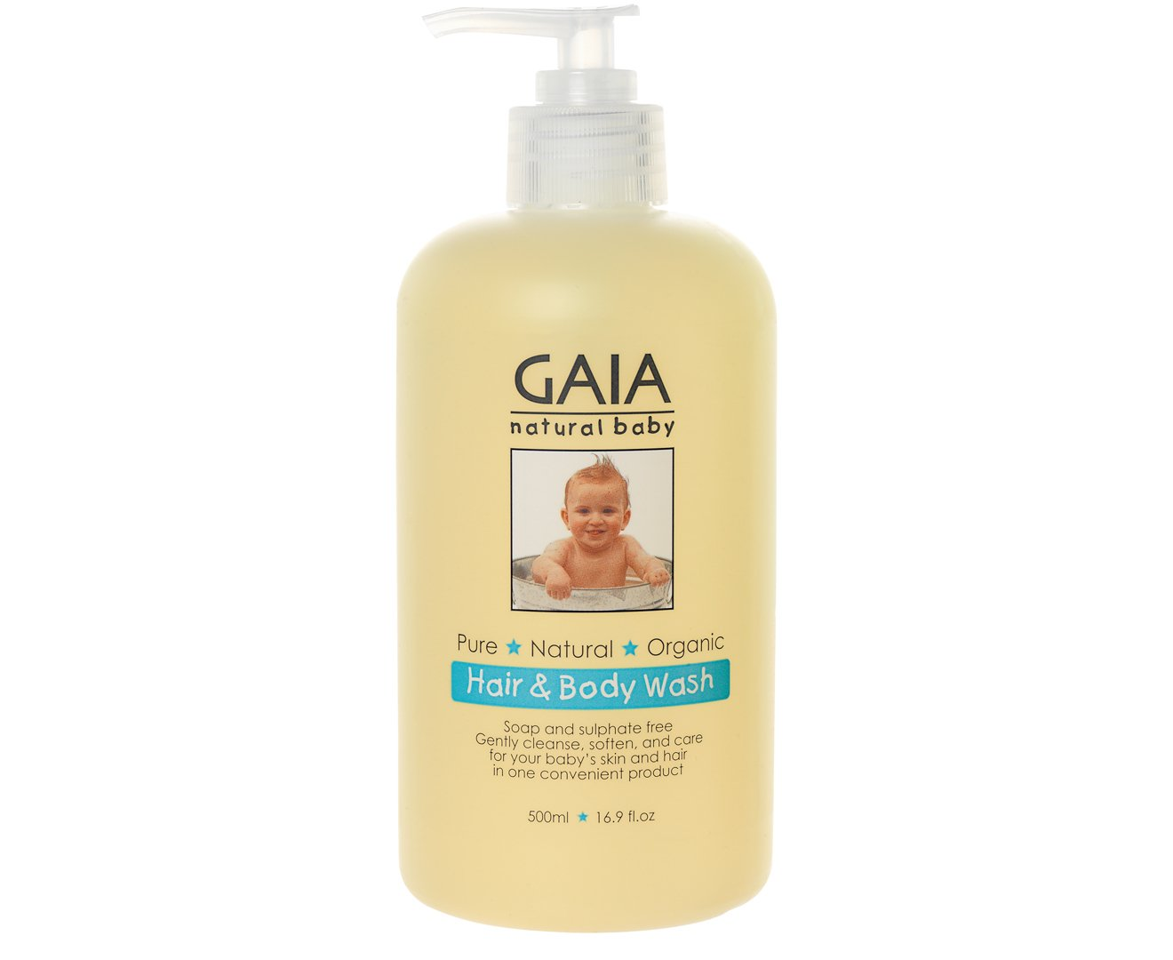 Hair and Body Wash 500mlm Gaia