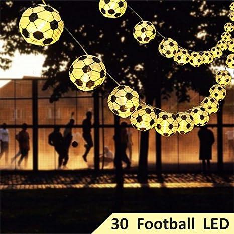 Uping - Tira de 30 bombillas LED, batería, luces mágicas de 8 modos,