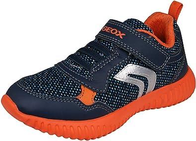 ganancia Ordenado Siesta  Geox B Waviness Boy B, Zapatillas Niños, US: Amazon.es: Zapatos y  complementos