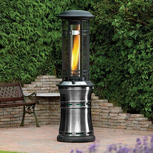 "Viemoi Glass Tube Replacement 28.3"" Tall ø5.9 Patio Heaters Quartz Glass Tube Replacement for Residential Heater"